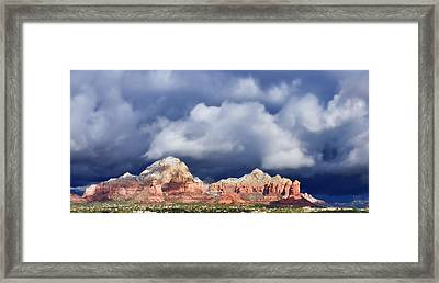Sedona Solstice Framed Print