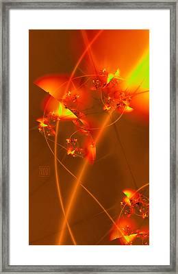 Sedona Valentine 2 Framed Print