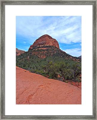 Sedona Framed Print by Victoria Lakes