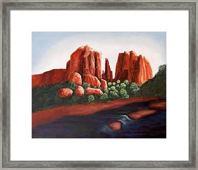 Sedona View Framed Print