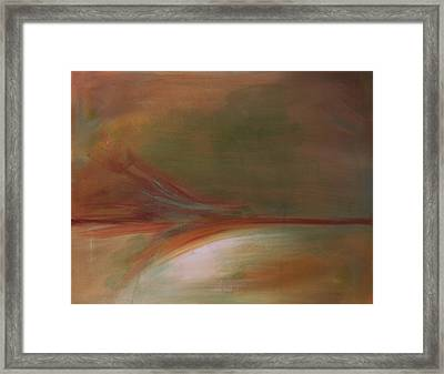 Sedona Vortex Abstract Framed Print