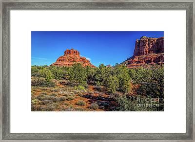 Sedona Vortex Framed Print by Jon Burch Photography