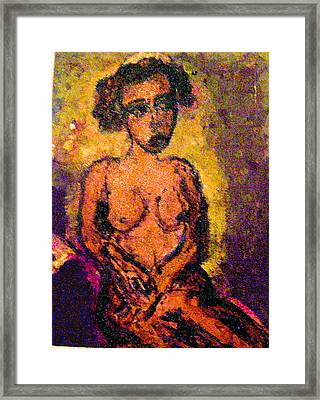 Seduction Framed Print by Noredin Morgan