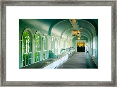 Seduction Of Architecture Framed Print by Karen Wiles
