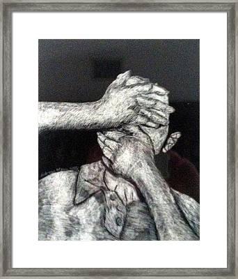 See And Speak No Evil Framed Print by Andrew Blitman