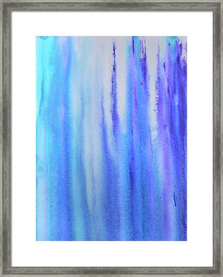See Blue Sea Framed Print by Cyrionna The Cyerial Artist