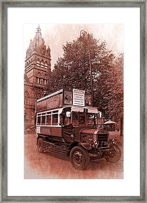 See Chester In Style Framed Print by Meirion Matthias