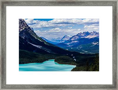 See Far Framed Print