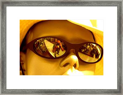 See Me See You Framed Print by Jez C Self