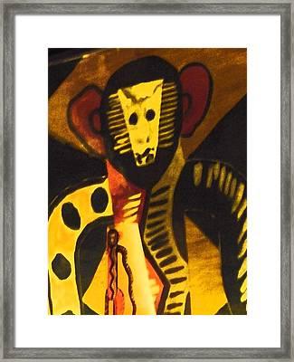 See No Evil Framed Print by Florene Welebny