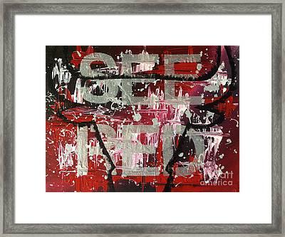 See Red Chicago Bulls Framed Print