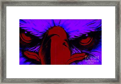 See Red Framed Print by Greg Patzer