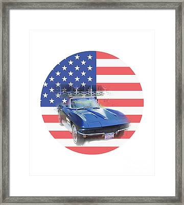 See The Usa Framed Print