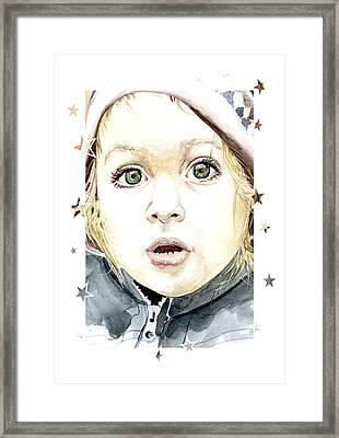See The World Through My Eyes  Framed Print