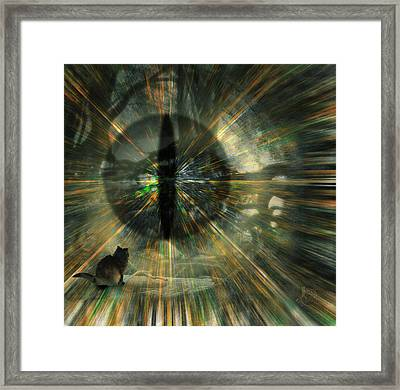 See What I See Framed Print by Gae Helton
