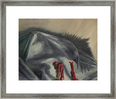 See You In The Shadows Framed Print