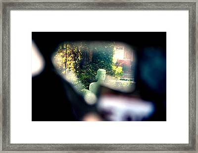 See You Framed Print by Jez C Self
