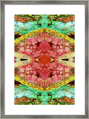 Seed Of Being Framed Print