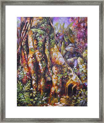 Seed Pod Framed Print by Monica Linville