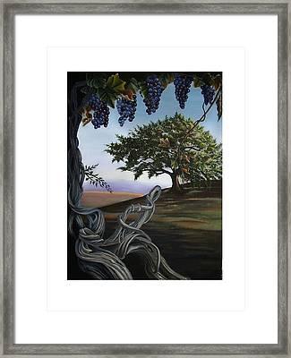 Seeds Of Eden Framed Print by Kathleen Romana