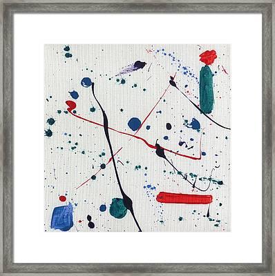 Seeds Of Miro Framed Print
