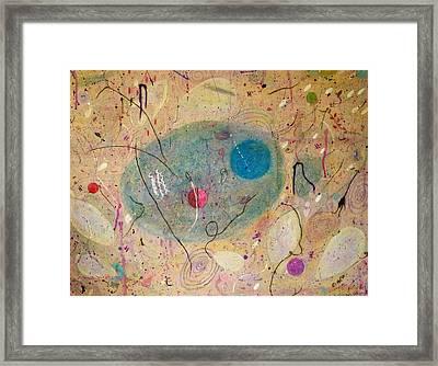 Seeds Of The Universe 2 Framed Print by Katrina Dalton