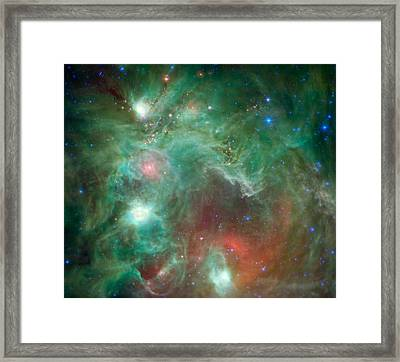 Seeing Beyond The 'monkey Head' Framed Print by Mark Kiver