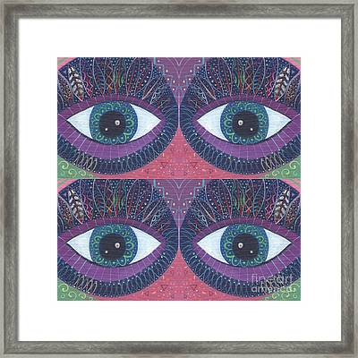 Seeing Double - Tjod 38 Compilation Framed Print
