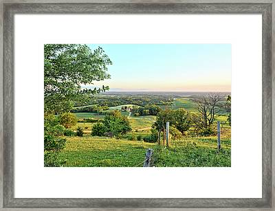 Seeing For Miles Framed Print