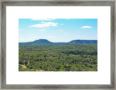 Framed Print featuring the photograph Seeing Forever by Teresa Blanton