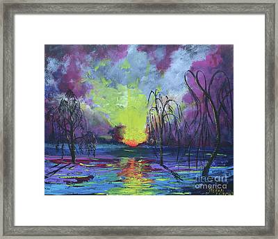 Seeing Through The Truth Framed Print