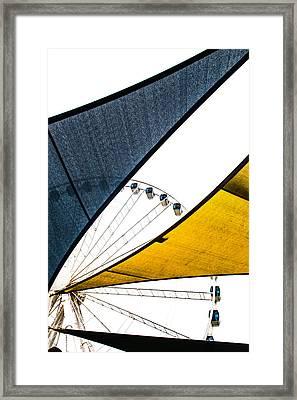 Seeing Thru Framed Print by Karol Livote