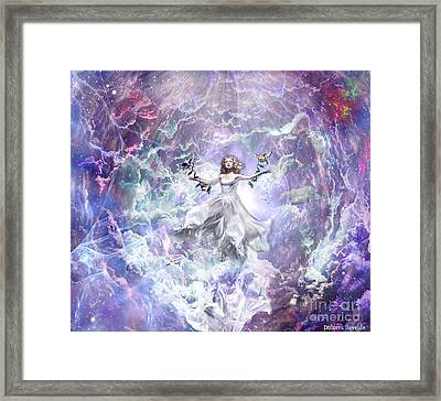 Seek And You Shall Find Framed Print by Dolores Develde