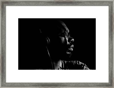 Framed Print featuring the photograph Seek It by Eric Christopher Jackson