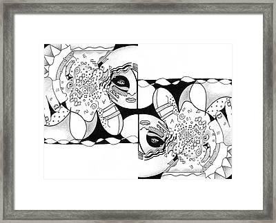 Seeking Alignment Framed Print by Helena Tiainen