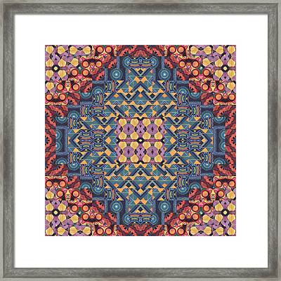 Seeking Oneness - A  T J O D 5-6 Compilation Framed Print by Helena Tiainen