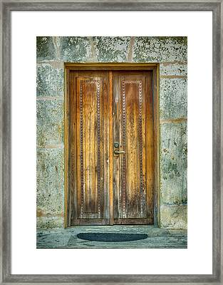 Framed Print featuring the photograph Seeking Sanctuary - 1 by Stephen Stookey