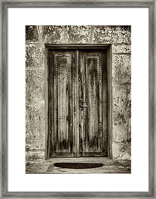 Framed Print featuring the photograph Seeking Sanctuary - 2 by Stephen Stookey