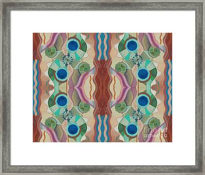 Seeking Shangri-la Framed Print