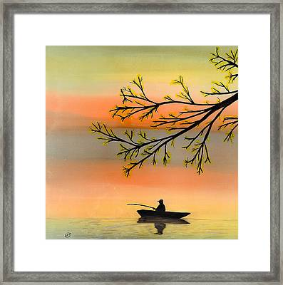 Seeking Solitude Framed Print