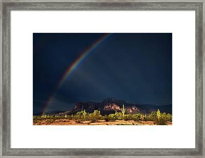 Framed Print featuring the photograph Seeking That Pot Of Gold  by Saija Lehtonen