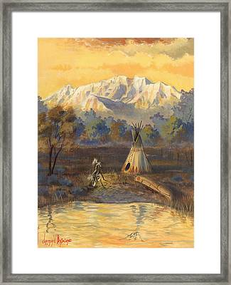 Seeking The Divine Framed Print by Jeff Brimley