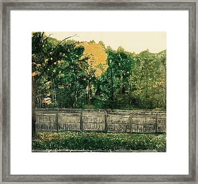 Seekonk Farm Framed Print