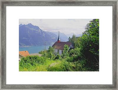 Seelisburg Switzerland Framed Print by Monica Engeler