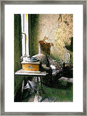 Seen Better Days Framed Print