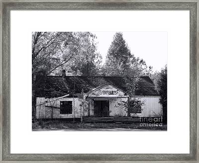 Seen Better Days Framed Print by Sue Melvin