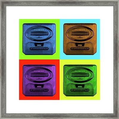 Sega Genesis Framed Print