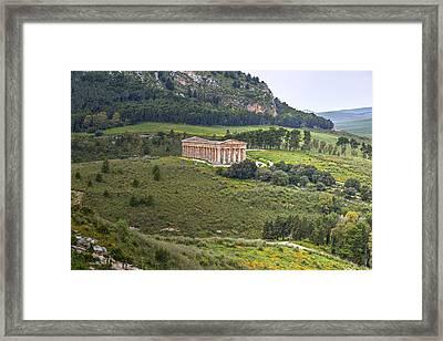 Segesta - Sicily Framed Print by Joana Kruse