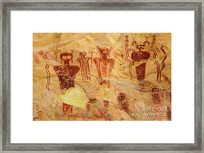 Sego Petroglyphs Utah 2 Framed Print by Bob Christopher
