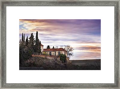 Segovia Sunset Framed Print